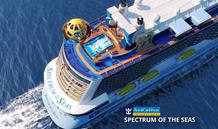 Čína, Japonsko z Baoshan na lodi Spectrum of the Seas