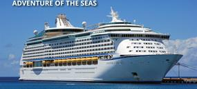 USA, Mexiko z Galvestonu na lodi Adventure of the Seas