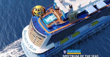 Čína, Vietnam na lodi Spectrum of the Seas *****