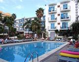 Malgrat de Mar - hotel Top Planamar - bus -