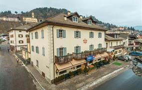 Hotel Italia - villa Monica v Castello Molina di Fiemme