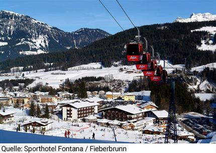 SKI OPENING - Hotel Fontana ve Fieberbrunnu - u lanovky