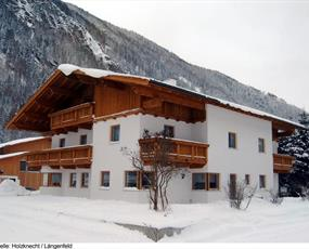 Apartmány Holzknecht v Längenfeldu