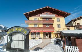 Hotel Beretta v Achenkirchu - běžky