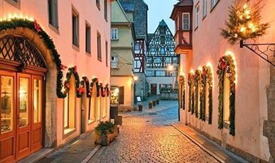 Adventní Romantická cesta Německa a kouzelné vánoční trhy ***