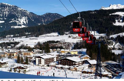 SKI OPENING - Hotel Fontana ve Fieberbrunnu - u lanovky ****