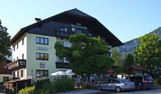 Penzion Bergblick v Bad Goisern v Solné komoře