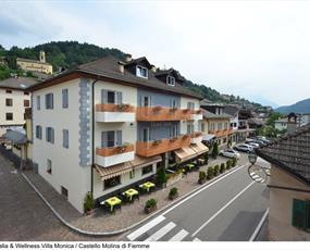 Hotel Villa Monica v Castello Molina di Fiemme