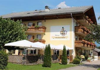 Gasthof Zinkenbachmühle v Abersee u jezera Wolfgangsee