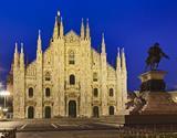 Miláno - adventní víkend v Itálii, nákupy a světové Vánoční