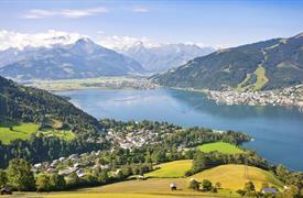 Zell am See a Kaprun pro seniory - pohoda mezi horami a jez