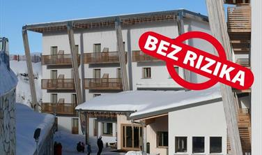 Hotel Le Blanc v Monte Bondone - 300 m od lanovky