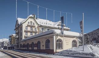 Hotel Montana v Davosu - s permanentkou v ceně