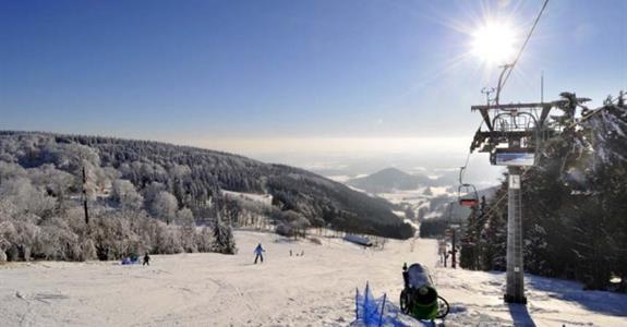 Ještěd - jednodenní lyžování