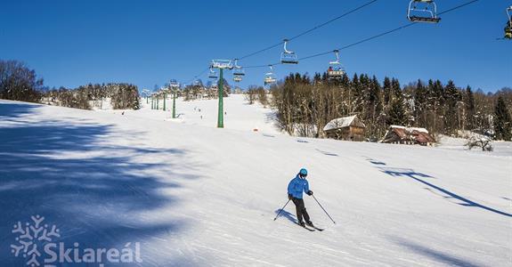 Skiareál Paseky - jednodenní lyžování