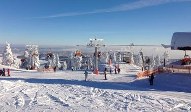 Skiareál Klínovec - jednodenní lyžování