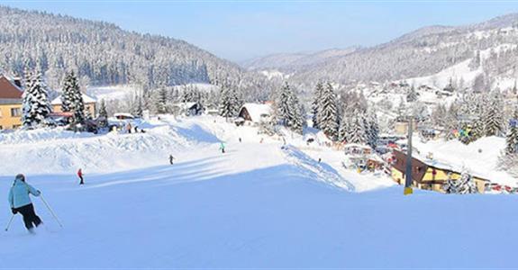 Tanvaldský Špičák - jednodenní lyžování