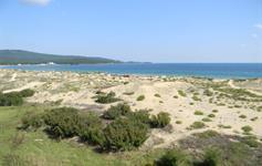 Výhled z některých pokojů na moře