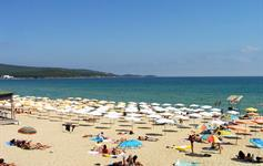Severní pláž Primorsko