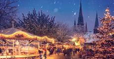 Vánoční Krušnohoří a Výmar