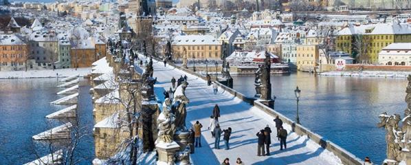 Предколедна Прага и