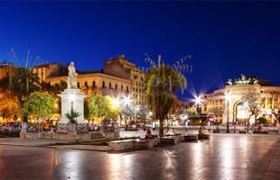 Нова Година 2020 в Палермо, Сицилия