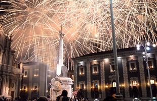 Нова Година 2020 в Катания, Сицилия