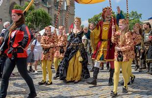 Златна Прага и средновековен празник в Кутна Хора