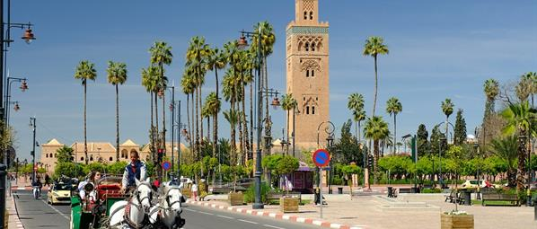 Пътеките на Андалусия и Магреба с кацане в Каракеш