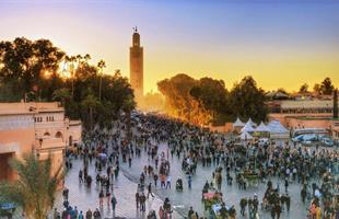 Мароко - пустинята Сахара и имперските столици