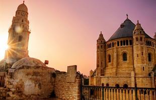 Йордания и Израел с Акаба, Ейлат и Масада