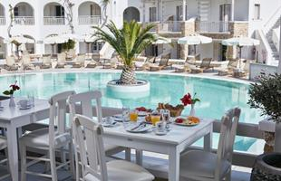 Майски празници остров Санторини в хотел Aegean Plaza