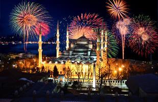 Нова Година 2020 в Истанбул