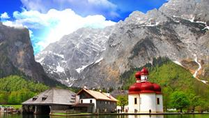 NP Berchtesgaden a Orlí hnízdo