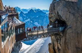 Chamonix, hora Mont Blanc a Ženeva - 5/19