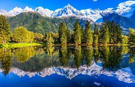 Chamonix, hora Mont Blanc a Ženeva - 17/19