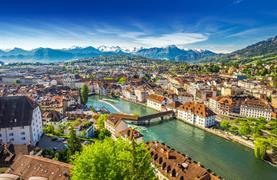 Visutý most na Titlisu, Engelberg a historický Luzern - 4/16
