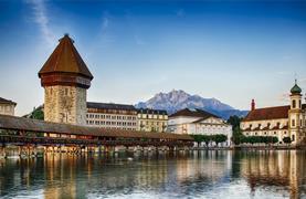 Visutý most na Titlisu, Engelberg a historický Luzern - 3/16