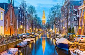 Amsterdam, sýry a malebný přístav Volendam - 9/20