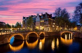 Amsterdam, sýry a malebný přístav Volendam - 7/20