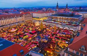 Adventní Drážďany a romantické historické trhy na pevnosti Königstein - 12/20