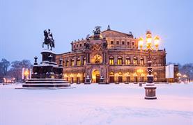 Adventní Drážďany a romantické historické trhy na pevnosti Königstein - 11/20
