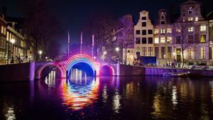 Adventní Amsterdam, Festival světel a sýry