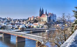 Advent ve středověké Míšni a prodloužené Drážďany