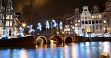 Silvestr v Amsterdamu - Festival světel a novoroční oslavy