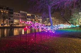 Silvestr v Amsterdamu - Festival světel a novoroční oslavy - 11/16