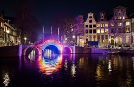 Silvestr v Amsterdamu - Festival světel a novoroční oslavy - 2/16