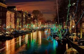 Silvestr v Amsterdamu - Festival světel a novoroční oslavy - 9/16