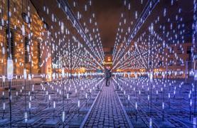 Silvestr v Amsterdamu - Festival světel a novoroční oslavy - 12/16
