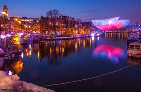 Silvestr v Amsterdamu - Festival světel a novoroční oslavy - 1/16